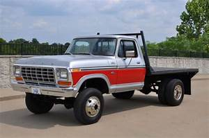 Purchase New 1979 Ford F250 4x4 Flatbed With Dual Rear