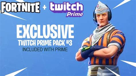 fortnite twitch prime pack  skins youtube