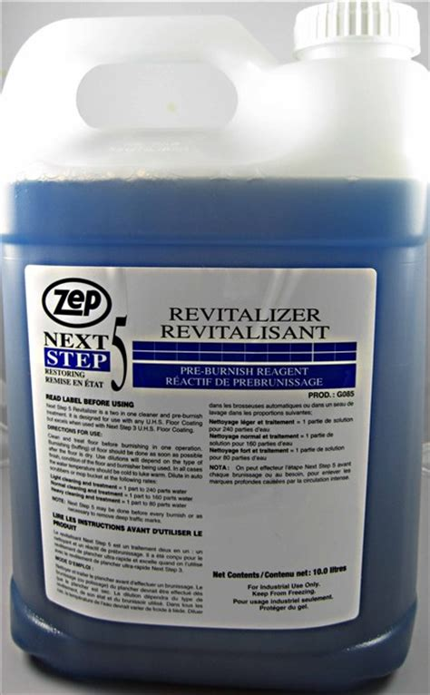 Zep Floor Finish Msds Sheet by Next Step 5 Revitalizer Soap Stop
