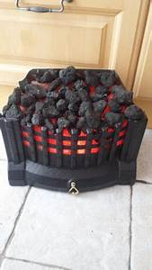 Artificial coal effect electric fire insert for sale in for Electric fire inserts coal effect