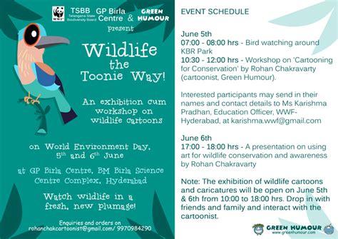 exhibition wildlife  toonie  june