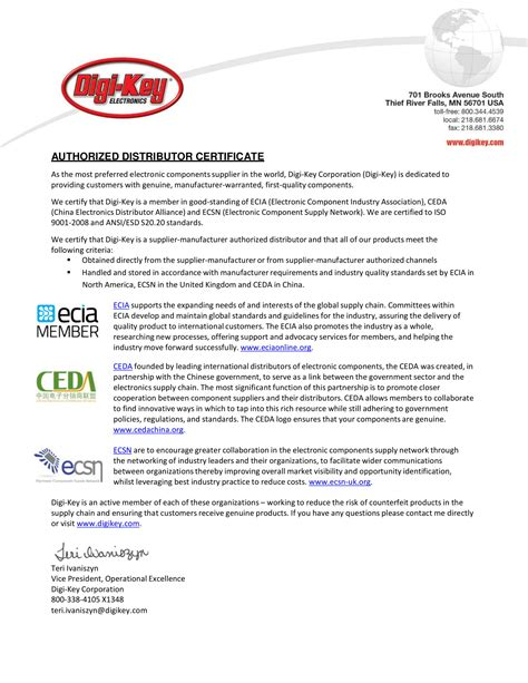 official distributor letter examples  examples