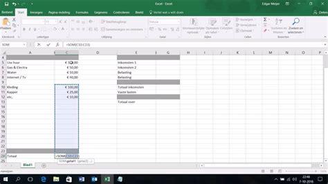 foto de Excel Template Boekhouding Eenmanszaak