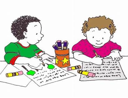 Clipart Learning Center Library Writing Preschool Cliparts