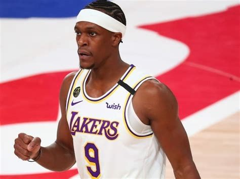 Lakers News: Rajon Rondo Leaning On Brother In NBA Bubble ...