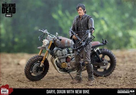 The Walking Dead Tv Daryl Dixon With New Bike Deluxe Box