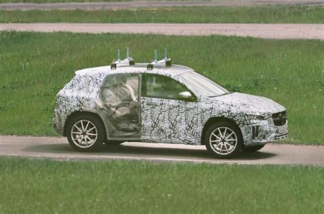 mercedes benz gla  crossover spied testing autocar