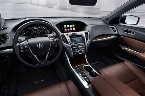 acura tlx interior 2018 acura tlx first look bolder sedan offers more value