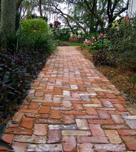 25 best ideas about brick path on brick