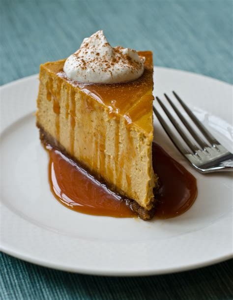 pumkin cheese pumpkin cheesecake with gingersnap crust and caramel sauce once upon a chef