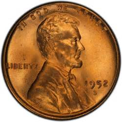 1952 Wheat Penny Value Lincoln