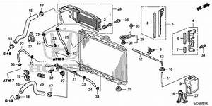 Oem 2006 Honda Ridgeline Sedan Radiator Hose  1  Parts