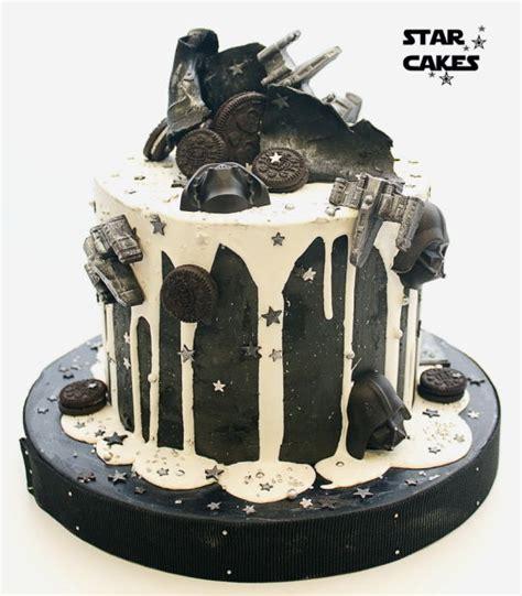 star wars drip cake cake  star cakes cakesdecor