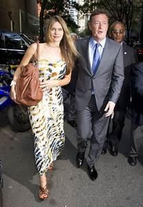 Piers Morgan Celia Morgan