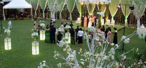 tempat resepsi pernikahan outdoor  bandung