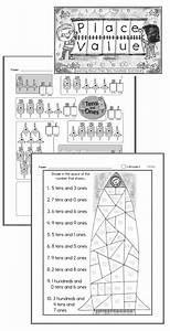 Math Placement Value Chart Ones Tens And Hundreds Worksheets Lessons And Printables