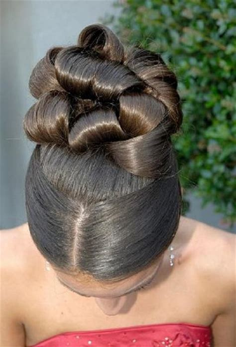 African American Women Wedding Hair Style   hairstyles for