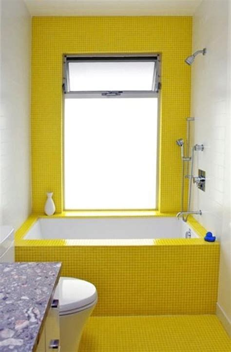 Yellow Tiles Bathroom by 34 Retro Yellow Bathroom Tile Ideas And Pictures