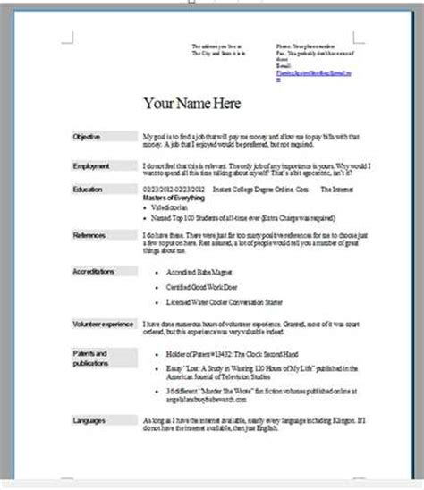 How To Do A Resume For A by By Step How To Do A Resume For A Step Nogodis