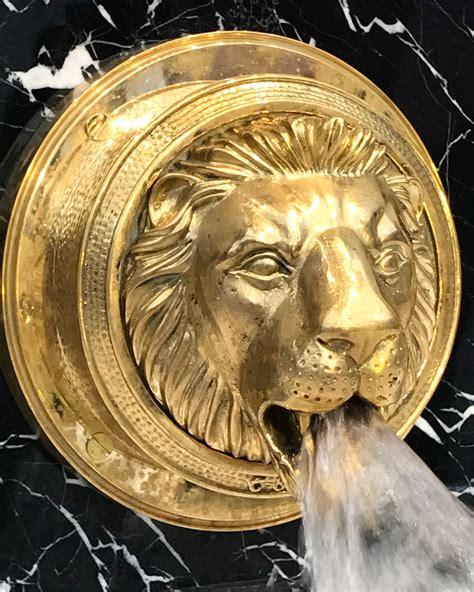 lion bathbasin filler chadder