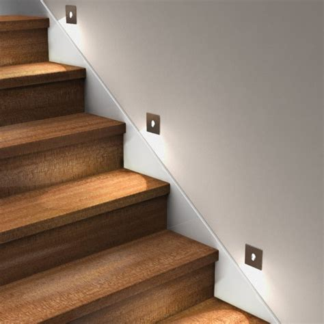 led recessed wall light use as step lights or bathroom