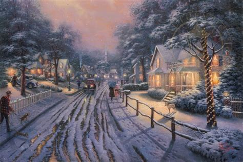 hometown christmas memories limited edition art