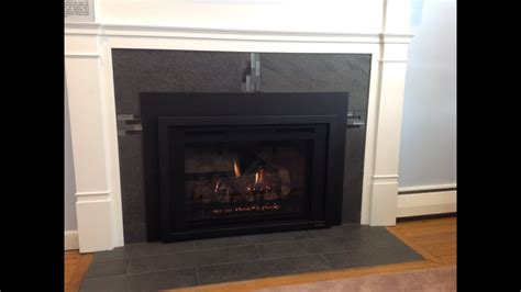reface  fireplace   gas insert youtube