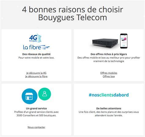 si鑒e bouygues telecom code promo bouygues télécom bon plan sur les forfaits et box
