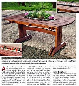 Patio Dining Table Plans - Modern Patio & Outdoor