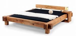 Betten 140 X 220 : mammut doppelbett massivholzbett sumpfeiche ge lt 140 x 200 cm ge lt ohne kopfteil ~ Bigdaddyawards.com Haus und Dekorationen