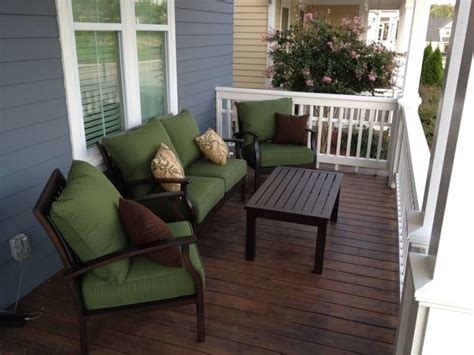 Porch And Patio Furniture by Comfortable Front Porch Furniture Sets Curb Appeal In
