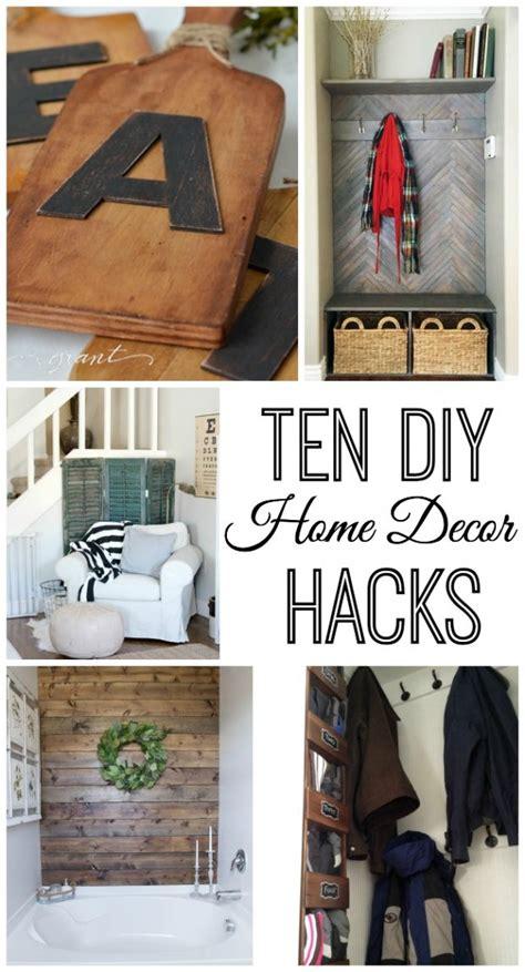 Home Decor Ideas Diy by 10 Do It Yourself Home Decor Hacks