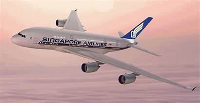 Singapore Airlines A380 Airline Plane Singaporeair Emirates