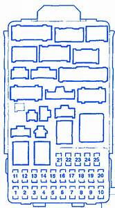 Honda Ballade 1990 Main Fuse Box  Block Circuit Breaker Diagram  U00bb Carfusebox