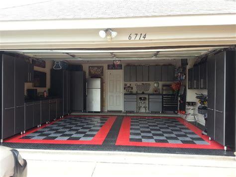 sams club garage floor mats malcolm s 2013 garage makeover modular flooring ulti
