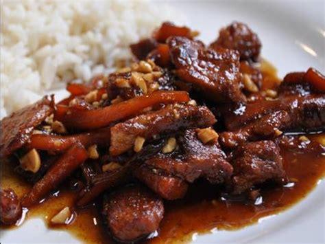 cuisine vietnamienne recette recette de cuisine vietnamienne porc au caramel
