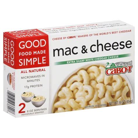 ea cuisine food made simple mac cheese sharp white