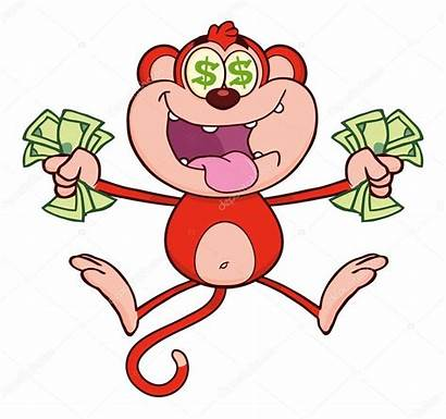 Cartoon Monkey Character Vector Depositphotos Illustration