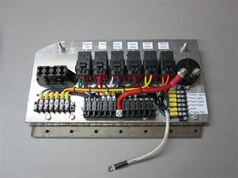 Custom Relay Panels Auto Electric Supply