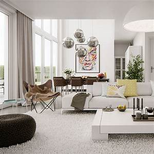 Modern Bright Interior  U2013 Adorable Home