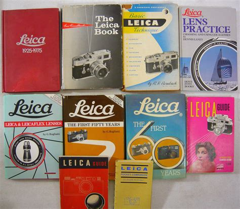 leica price list many leica books and lfi magazines listed for sale on