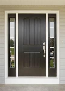 Doors Pictures Front Painted Black For Best And Door
