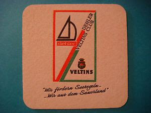 beer coaster brauerei   veltins dehler club meschede grevenstein germany ebay