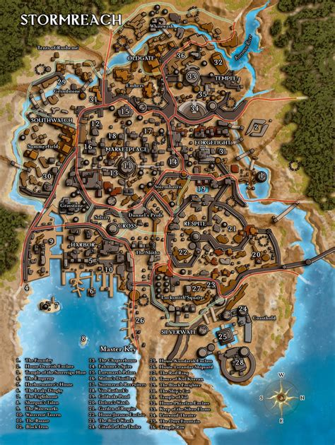 wayfinders  xendrik map  stormreach