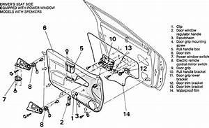 Diagrams To Remove 2009 Mitsubishi Outlander Driver Door