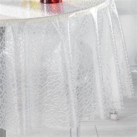 nappe ronde transparente 180 28 images salle a manger complete avec nappe ronde transparente