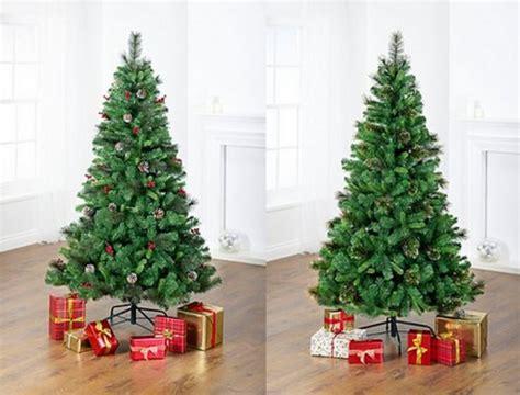 asda 6ft christmas tree 163 15 instore hotukdeals
