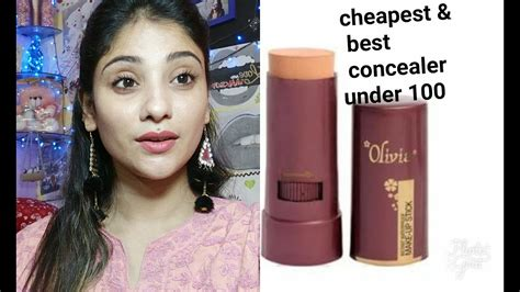 cheapest concealer   rs  india olivia pan