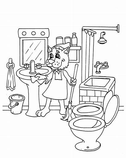 Coloring Pages Clean Cleanitsupply Printable Template Templates