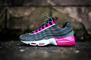 Pink and Black Nike Air Max 95